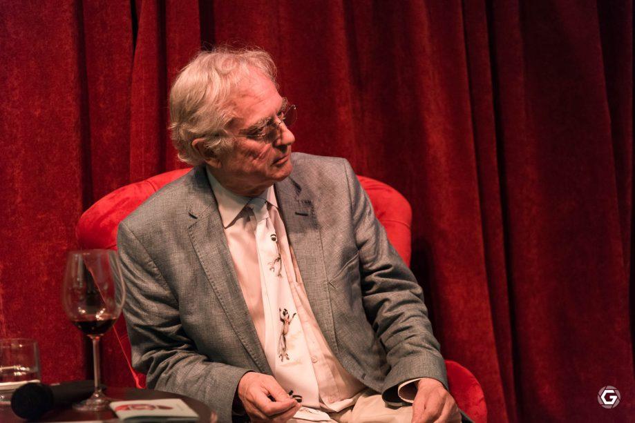 Ричард Докинз внимательно слушал все вопросы. Фото: Анна Балахонцева