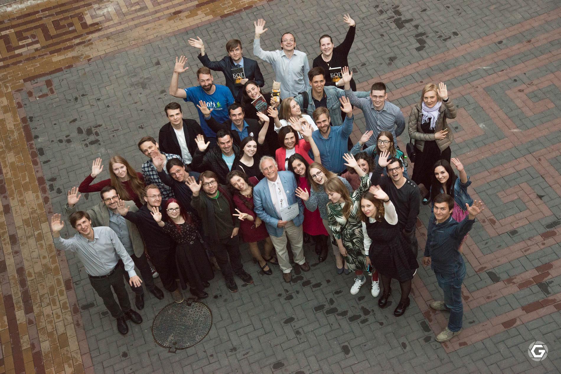 Участники встречи сДокинзом. Фото: Анна Балахонцева