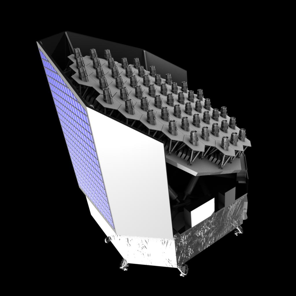 Концепт телескопа PLATO.