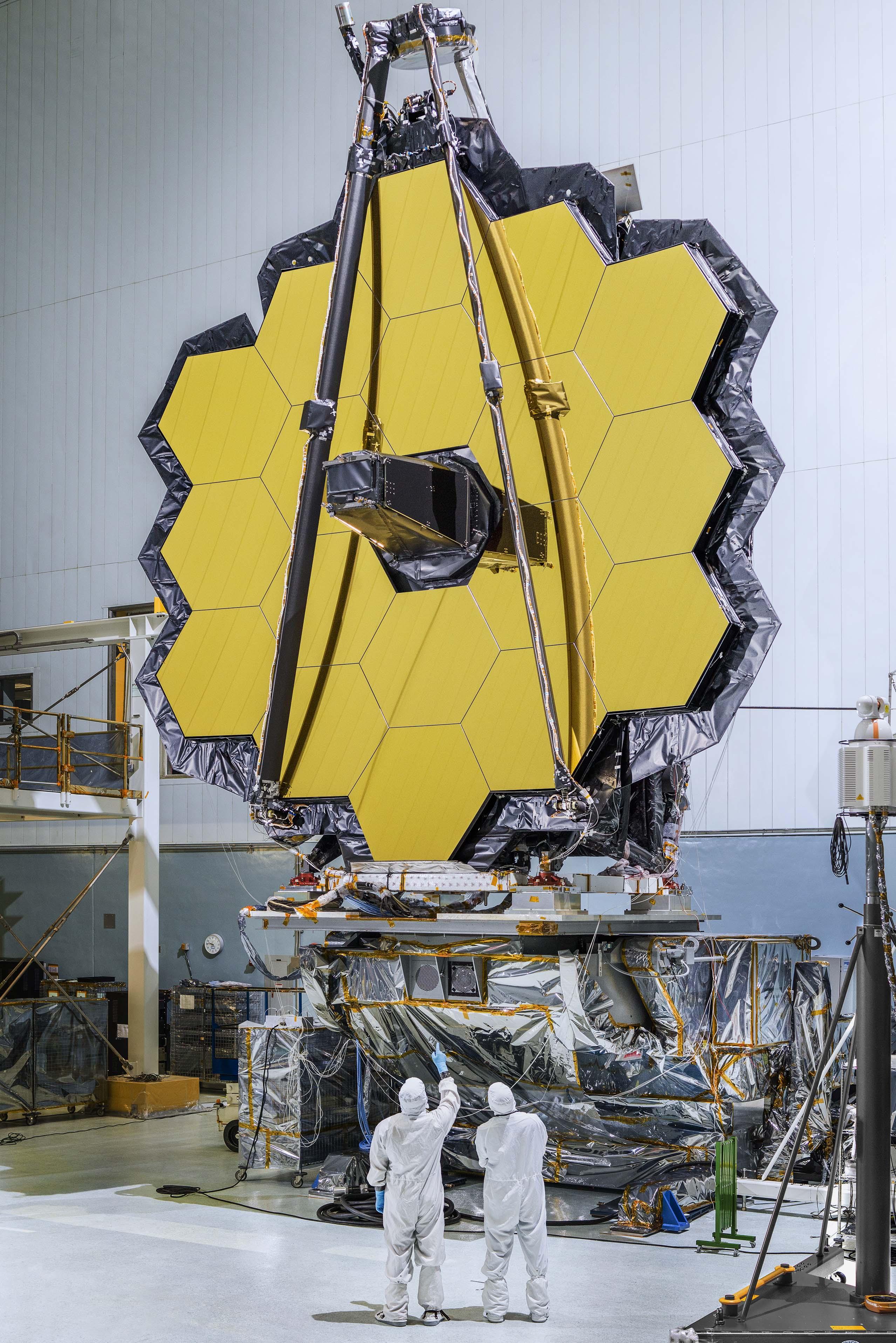 Космический телескоп имени Джеймса Уэбба.