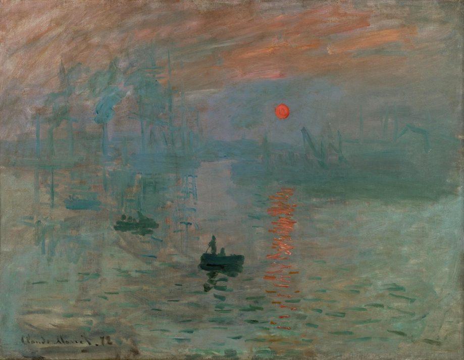 Клод Моне. Впечатление. Восход солнца. 1872