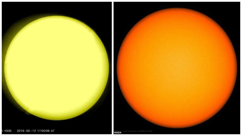 Солнце без пятен. Ксожалению, спокойное Солнце непринесёт Земле ничего хорошего.