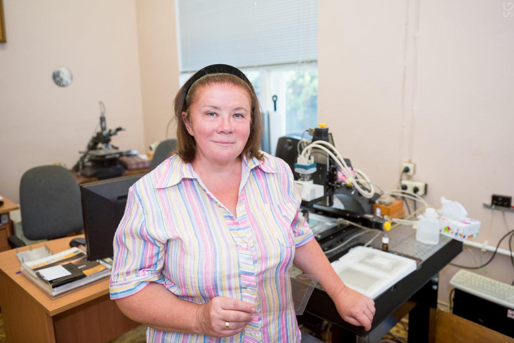 Профессор Наталья Полухина