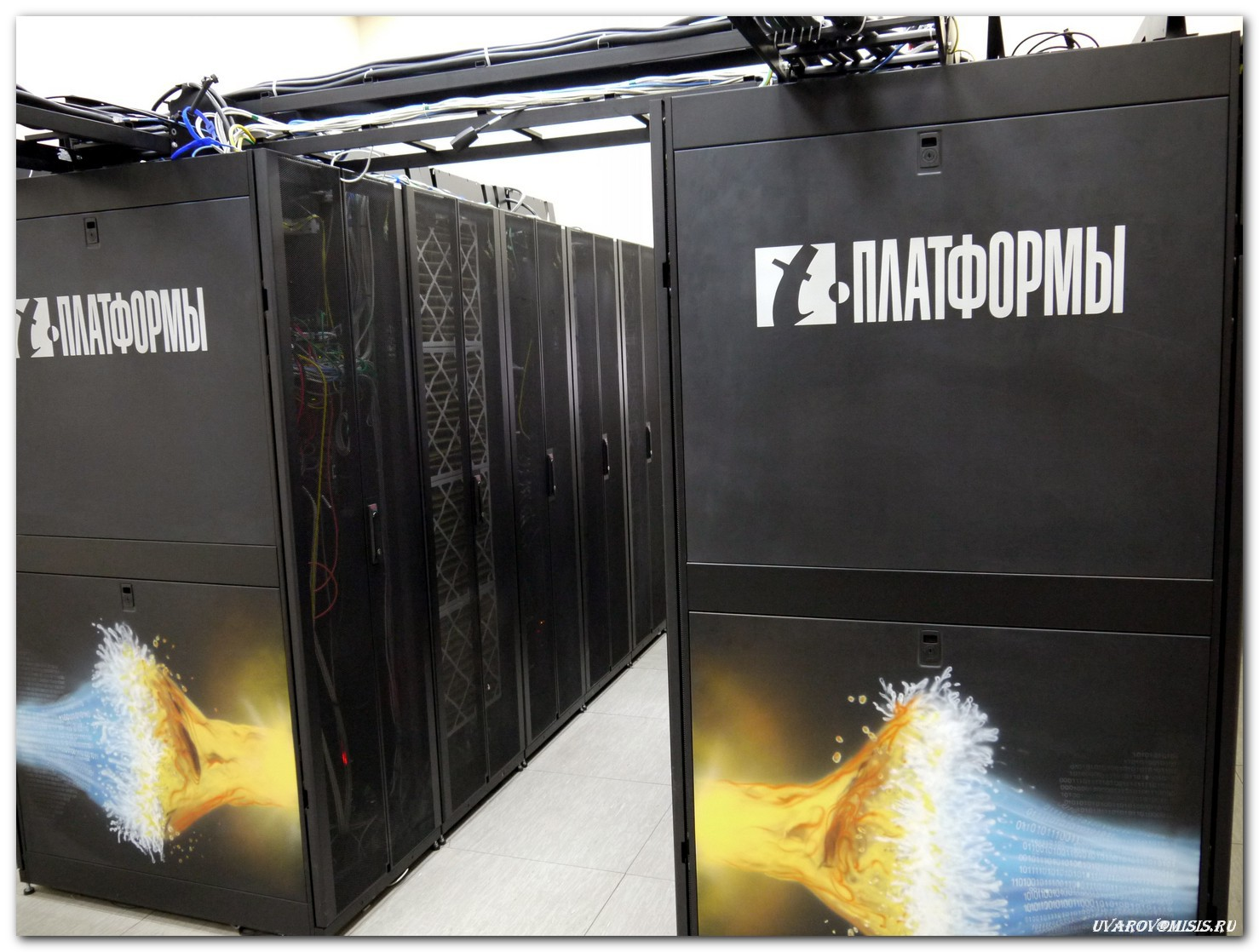 ВМИСиС с2014 года работает кластер наоснове суперкомпьютера <i>Cherry</i>.