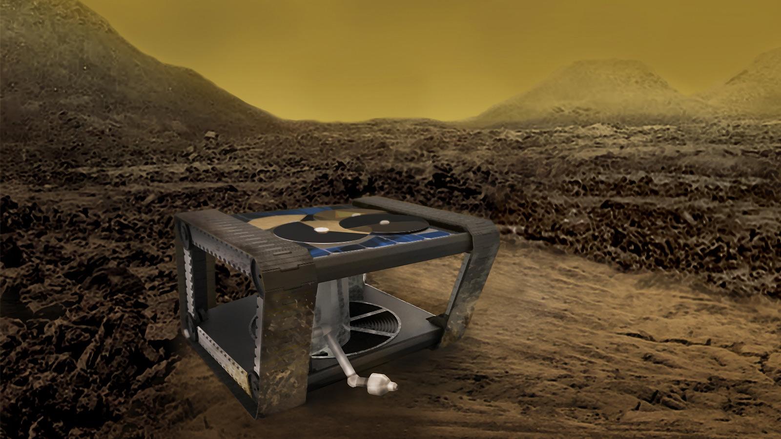 Концепт планетохода AREE для исследований Венеры.
