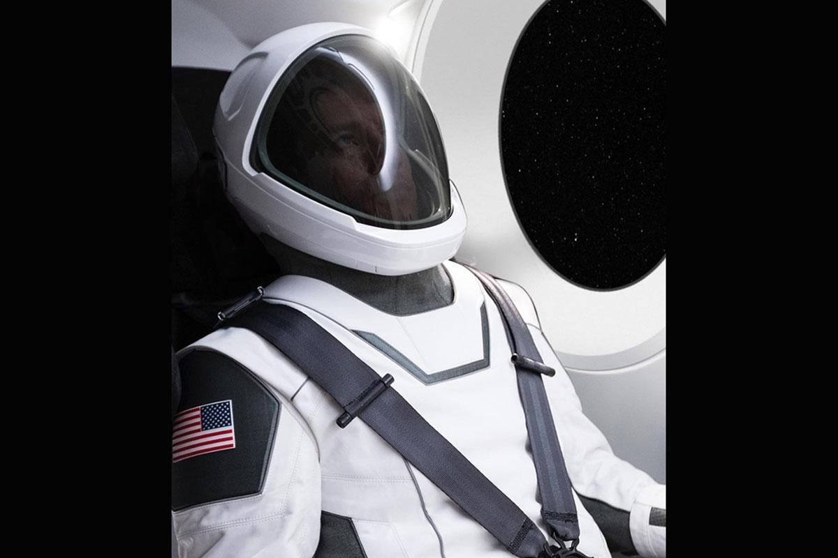 Скафандр, разработанный SpaceX.