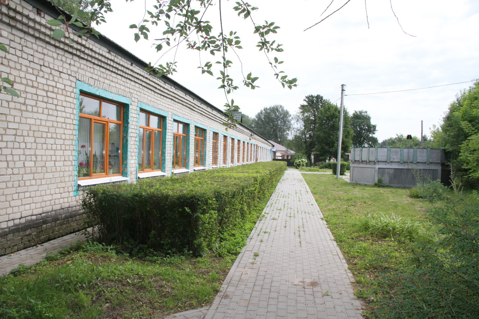 Вид лагеря снаружи