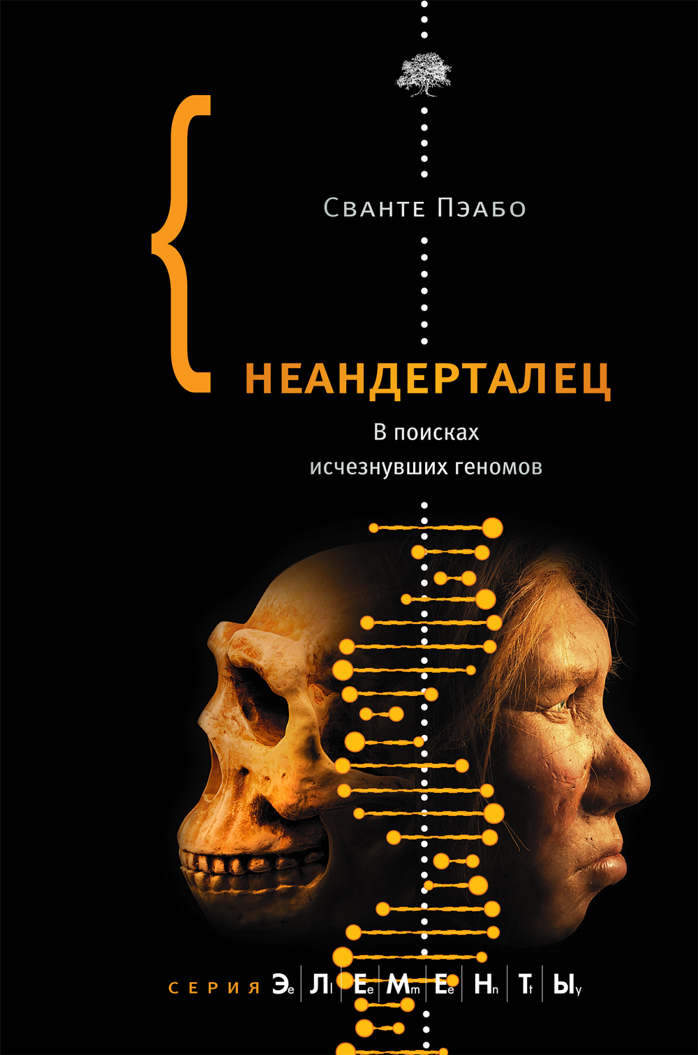 Обложка книги Пэабо «Неандерталец».