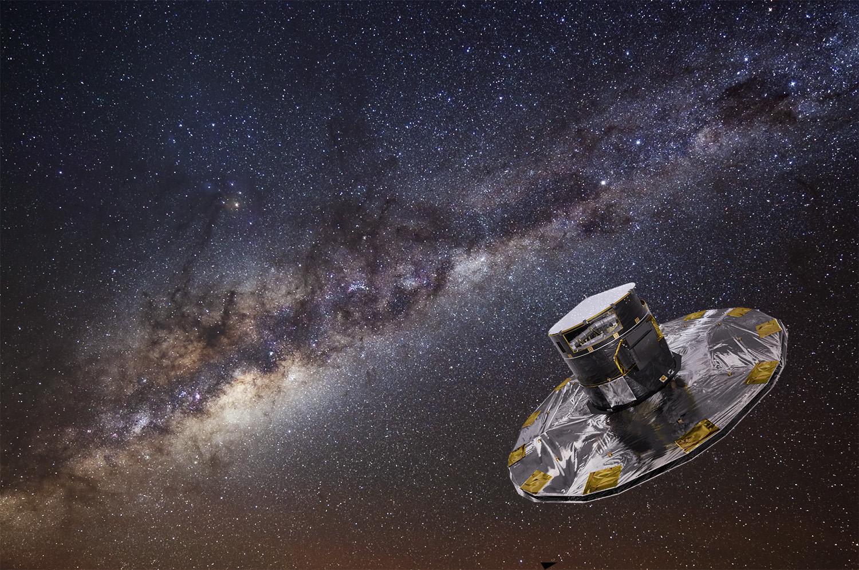 Гайя— инструмент создания трёхмерной карты нашей галактики— Млечного пути.