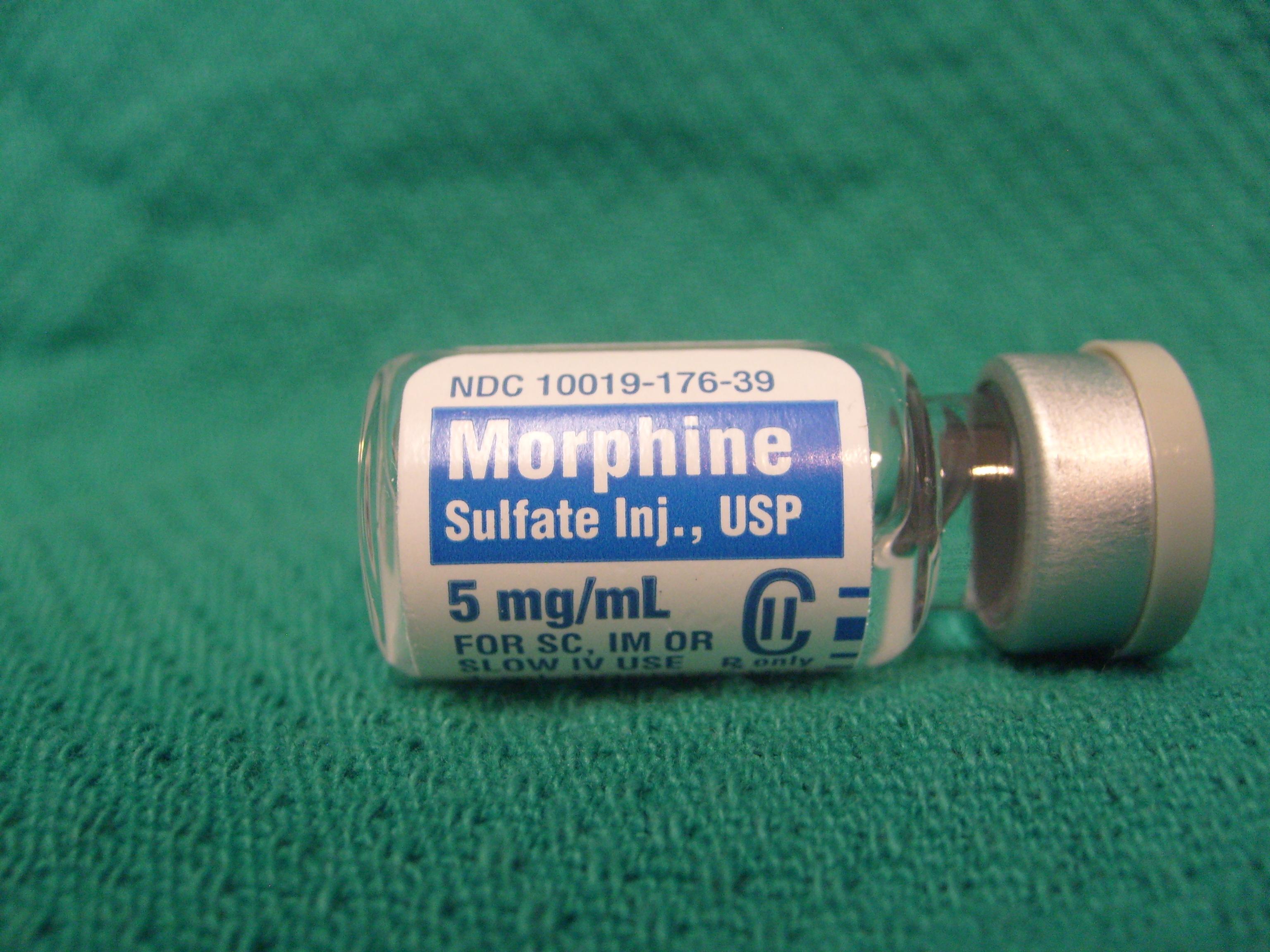 Морфин мог бы облегчить жизнь десяткам тысяч неизлечимо больных.