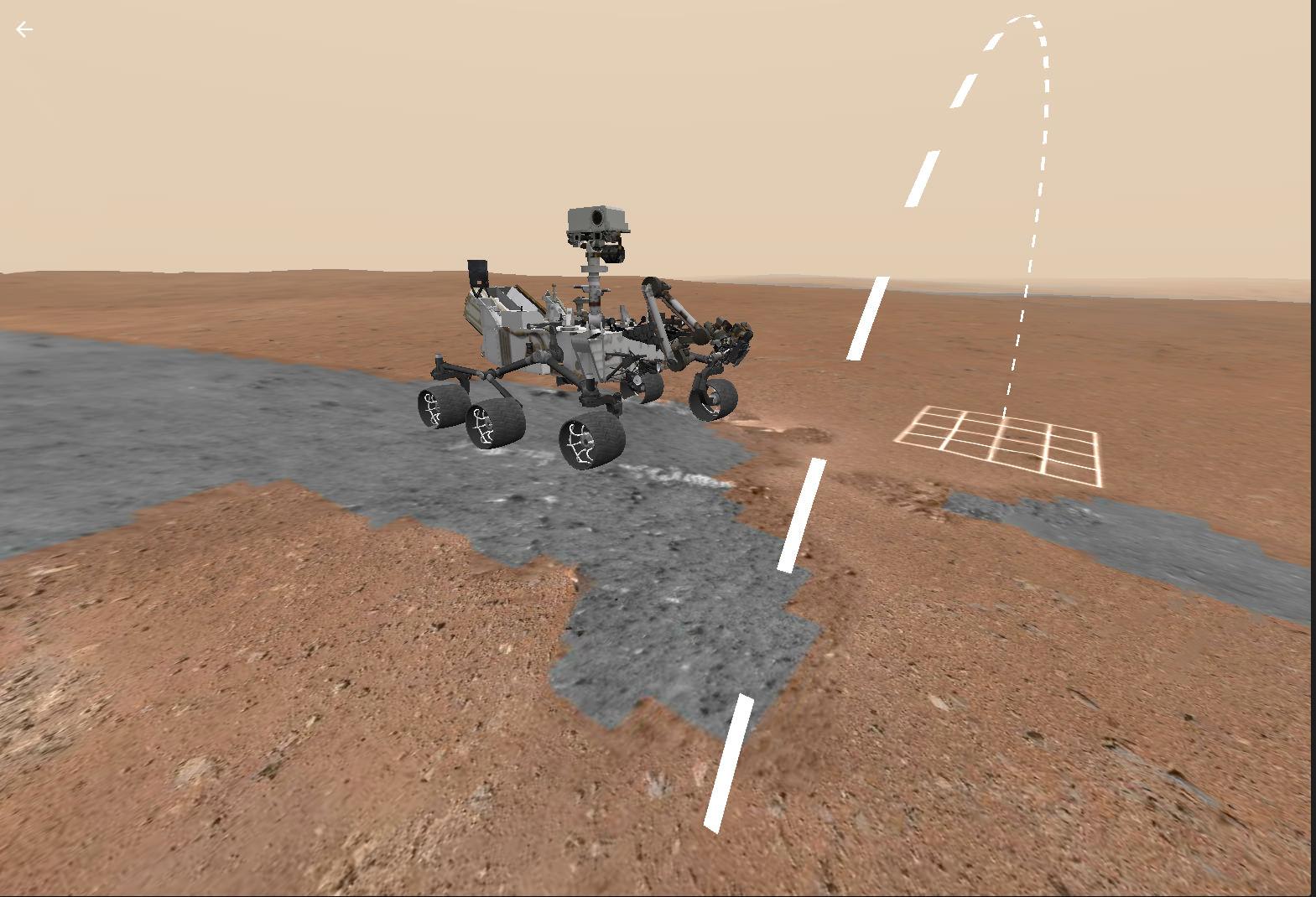 Access Mars предназначен для экскурсий ввиртуальной реальности, ивобычном браузере выглядит неслишком впечатляюще.