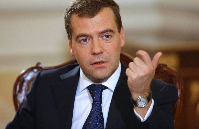 Премьер-министр Российской Федерации Дмитрий Медведев.