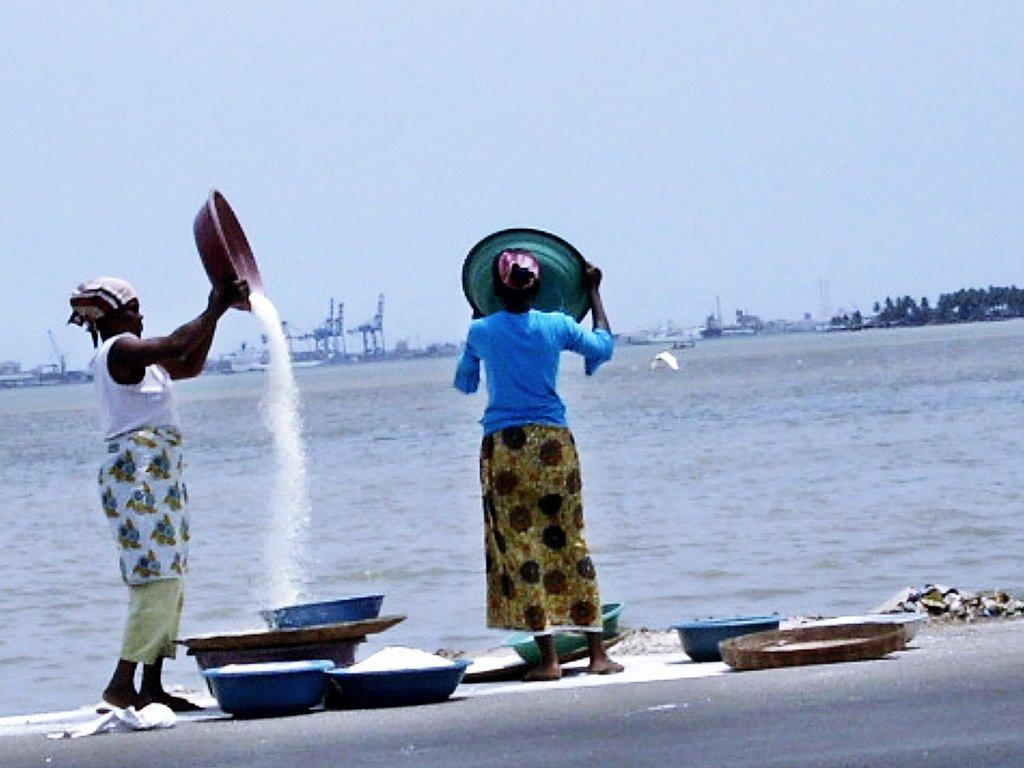 Женщины вКот-д'Ивуар.