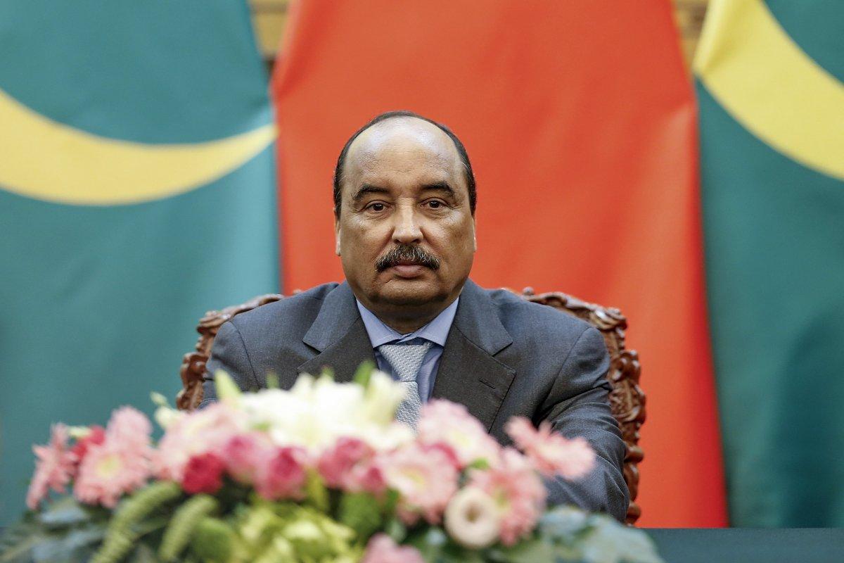Президент Мавритании Мохаммед ульд Абдель Азиз (араб. محمد ولد عبد العزيز, фр. Mohamed Ould Abdel Aziz).