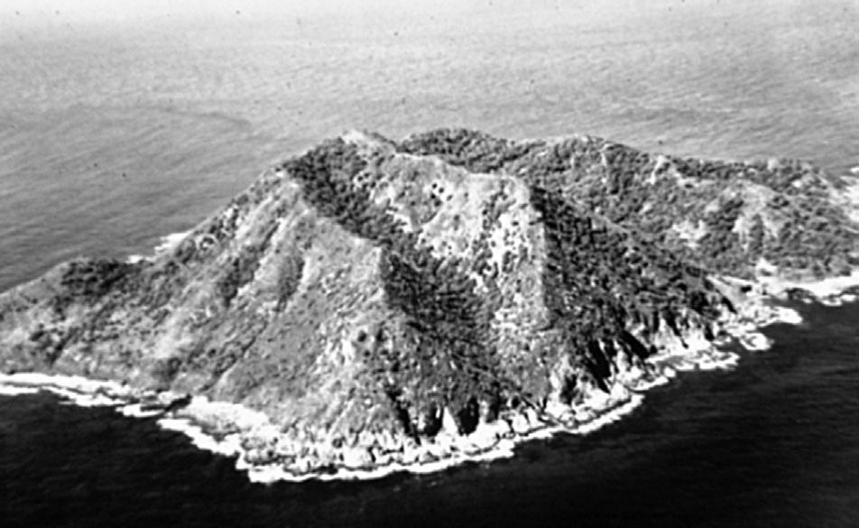 Остров Десечео, кзападу от Пуэрто-Рико