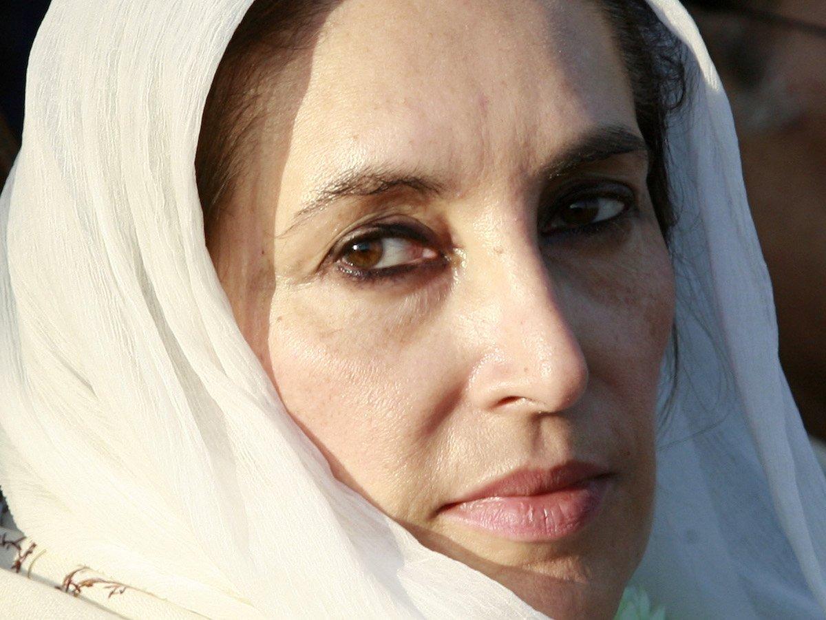 Беназир Бхутто.