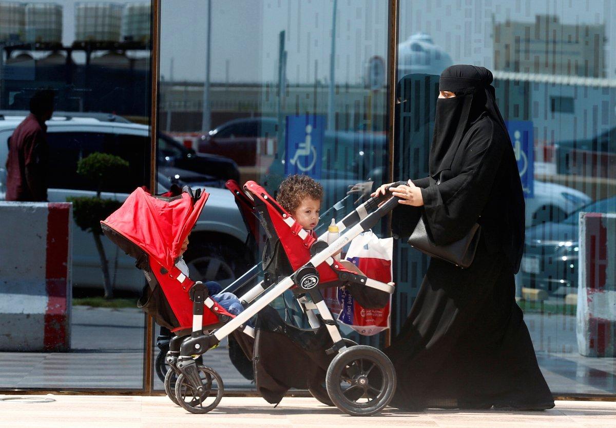 Жительница Саудовской Аравии.