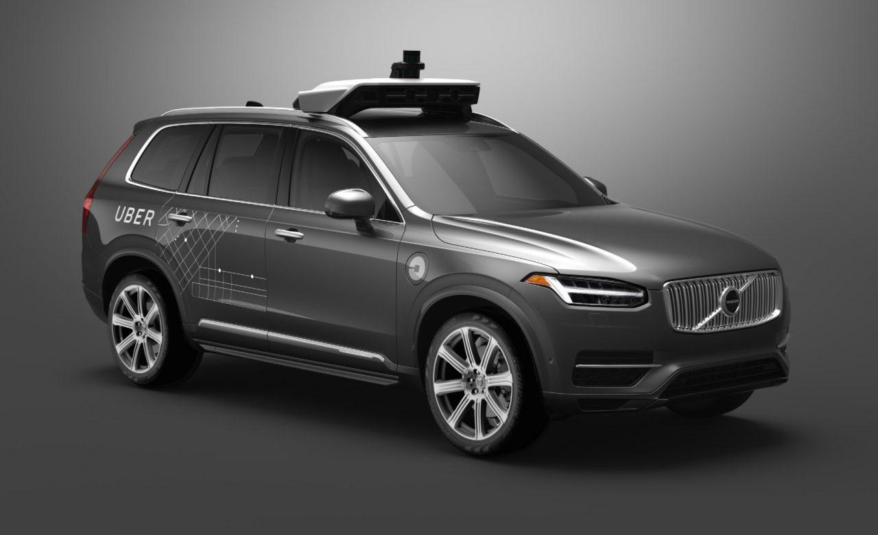 Убер закупит внедорожники Вольво для постройки беспилотных такси