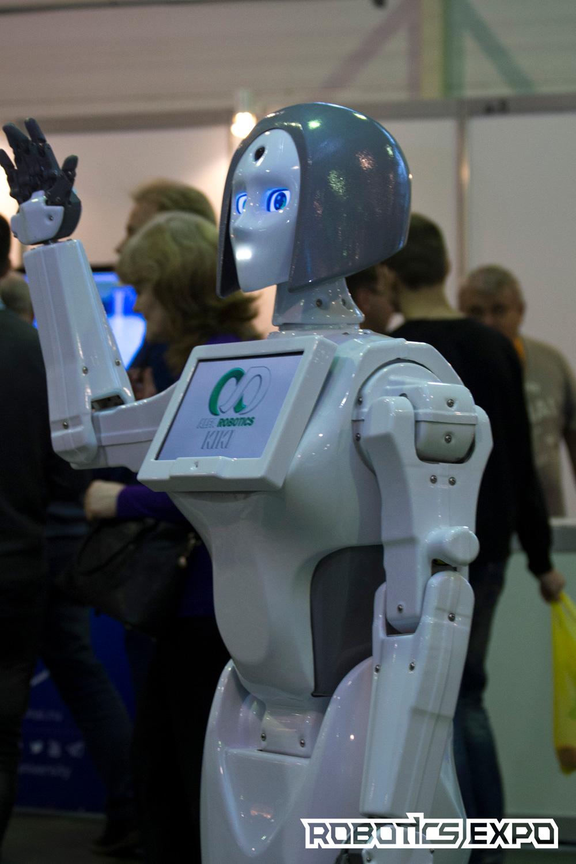 Робот KIKI / Фотография предоставлена организаторами выставки