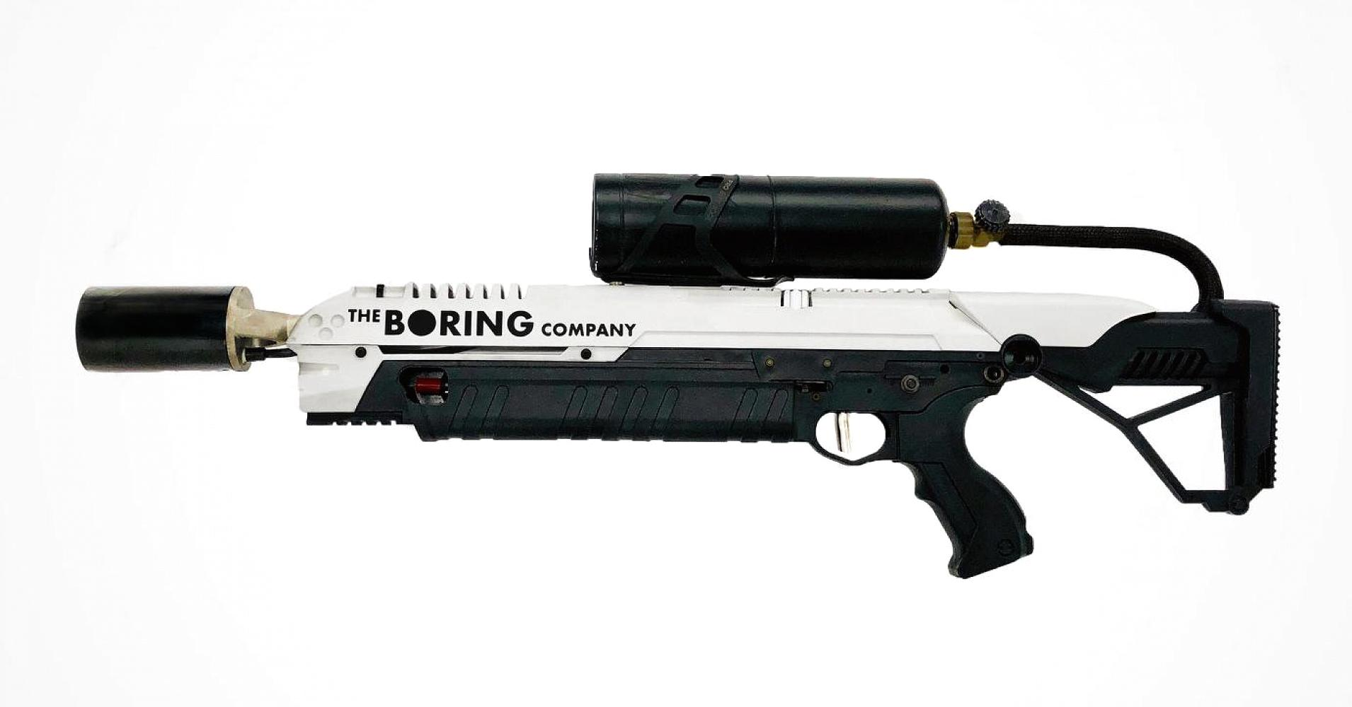 Огнемёт <i>The Boring Company</i>.
