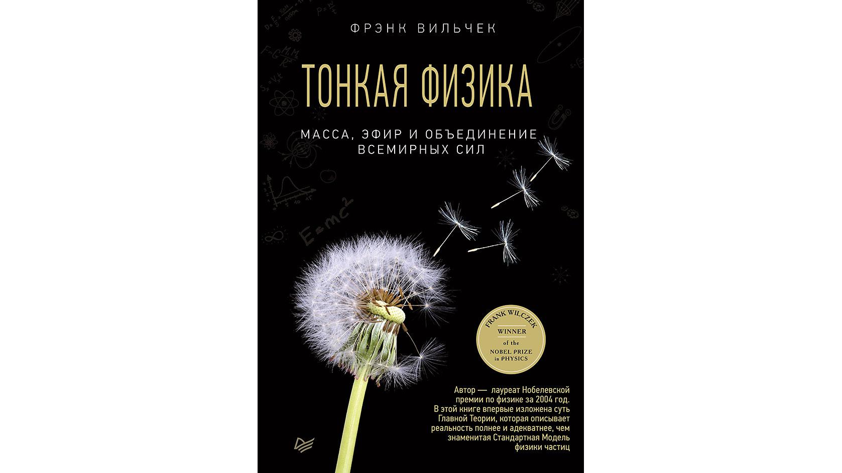 Обложка книги «Тонкая физика. Масса, эфир иобъединение всемирных сил».