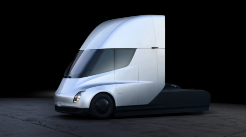 Tesla Semi White
