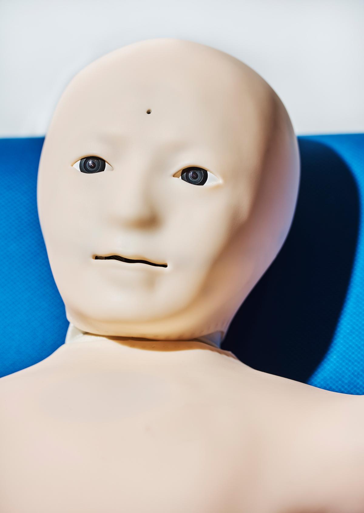 В состоянии покоя лицо теленоида такое безмятежное, что его трудно представить тревожным