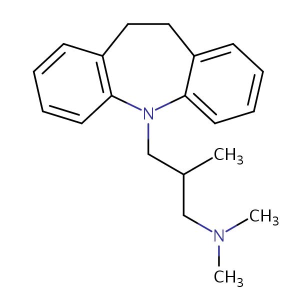 Тримипрамин, представитель класса трициклических антидепрессантов