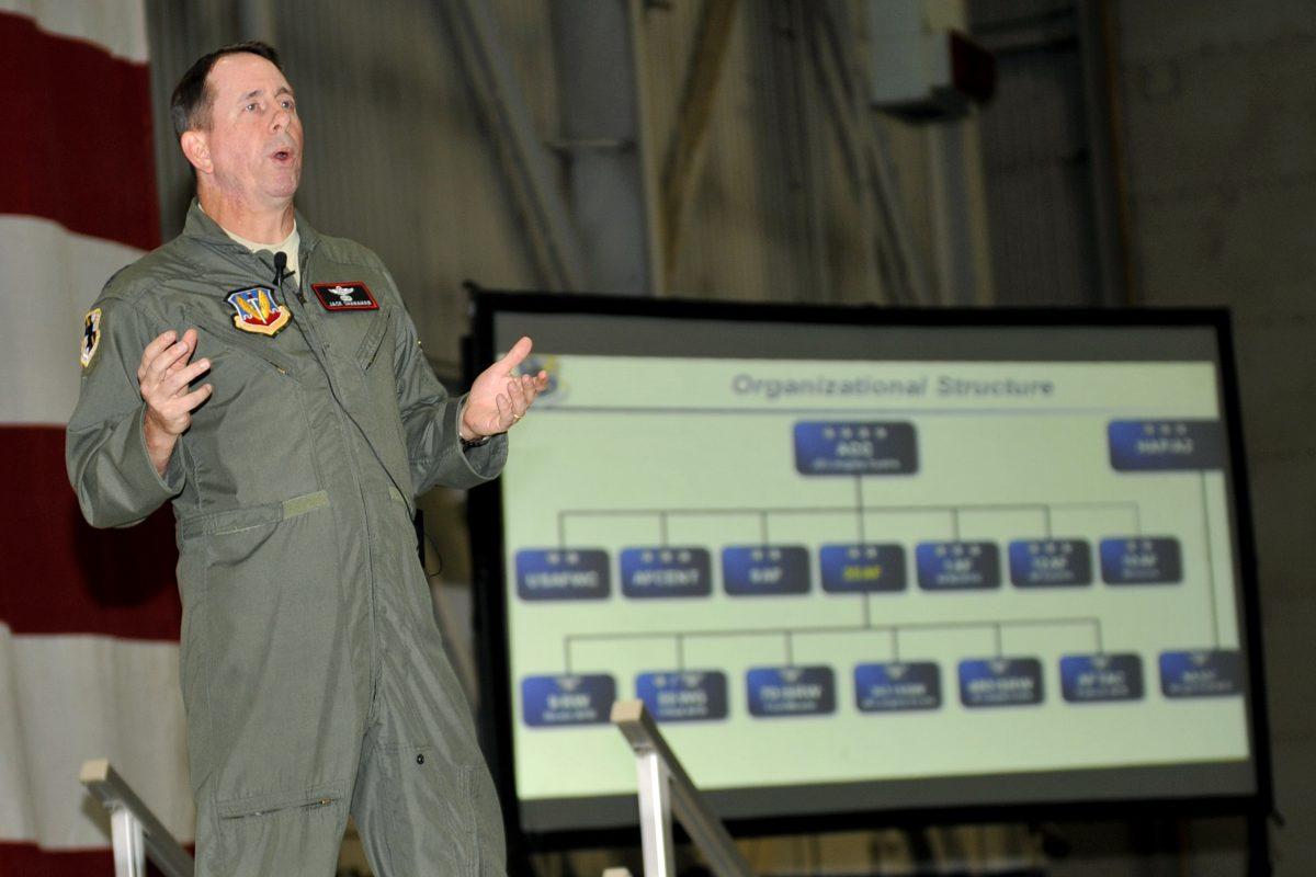 Генерал-лейтенант ВВС Джек Шанахан (John N.T. «Jack» Shanahan).