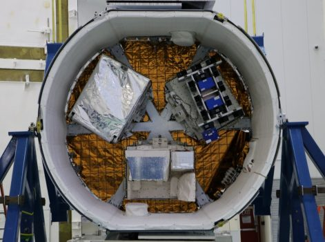 Негерметичный отсек Dragon сполезным грузом миссии CRS-14 || Фото ЕКА