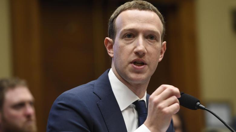 Марк Цукерберг вновь предстал перед конгрессом США.|| Фото: <i>CNN Money</i>.