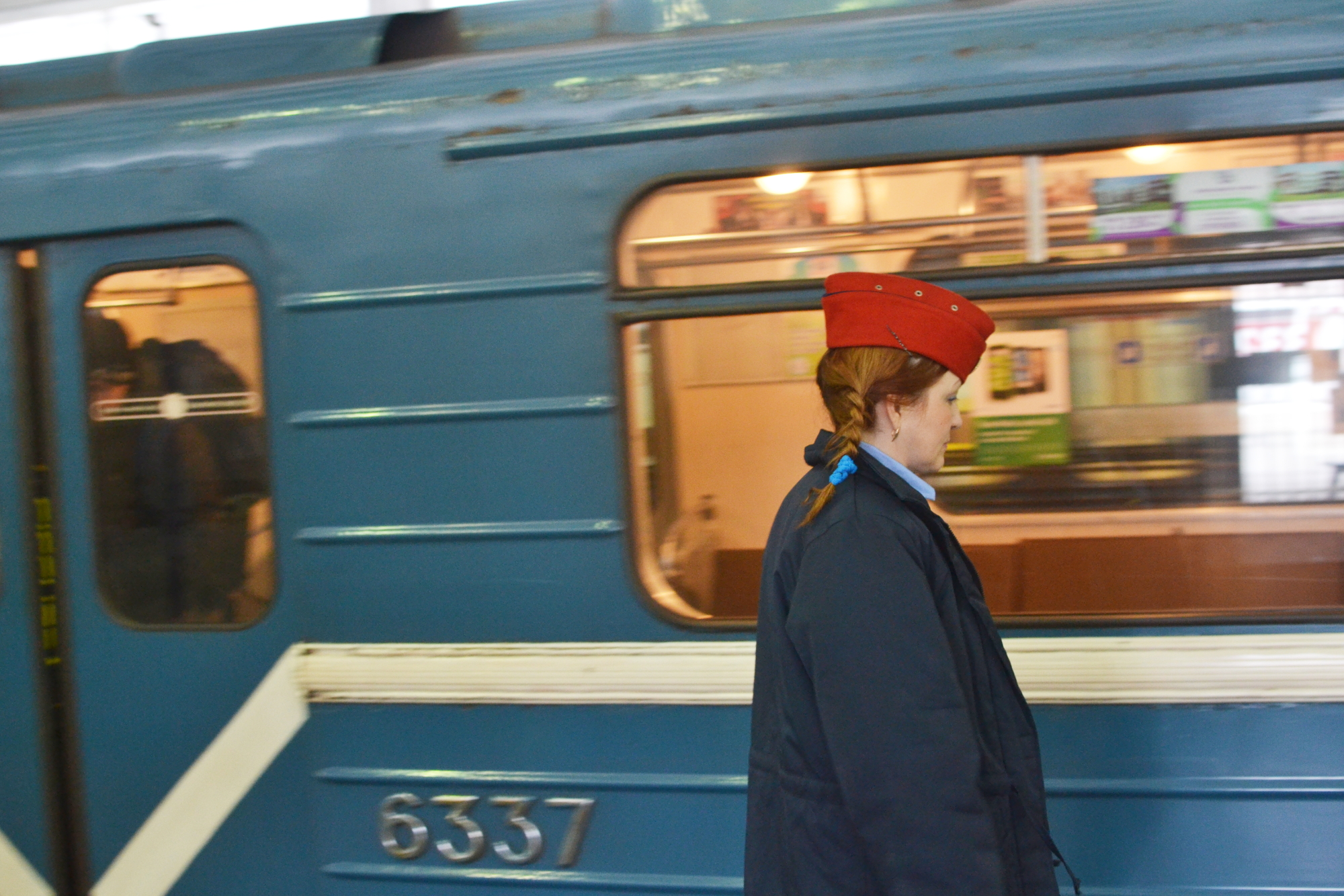 Питерское метро, 2015 год.