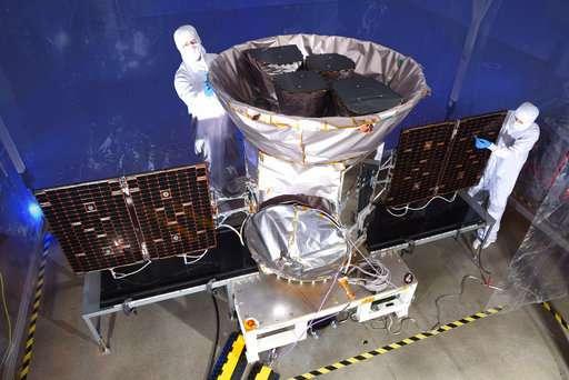 Пока спутник TESS готовят кзапуску, но уже скоро он выйдет наорбиту.