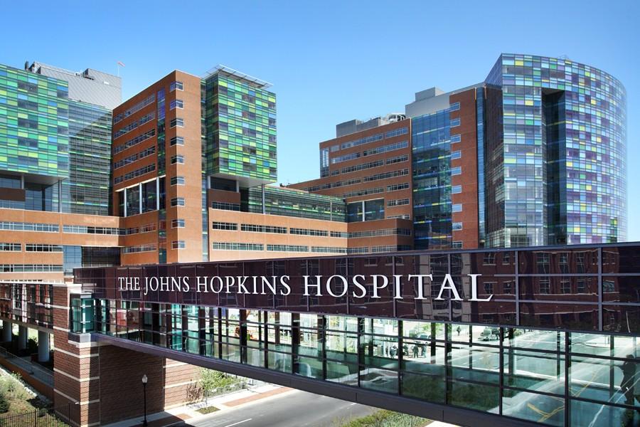 Больница Джонса Хопкинса, вкоторой проводилась операция.