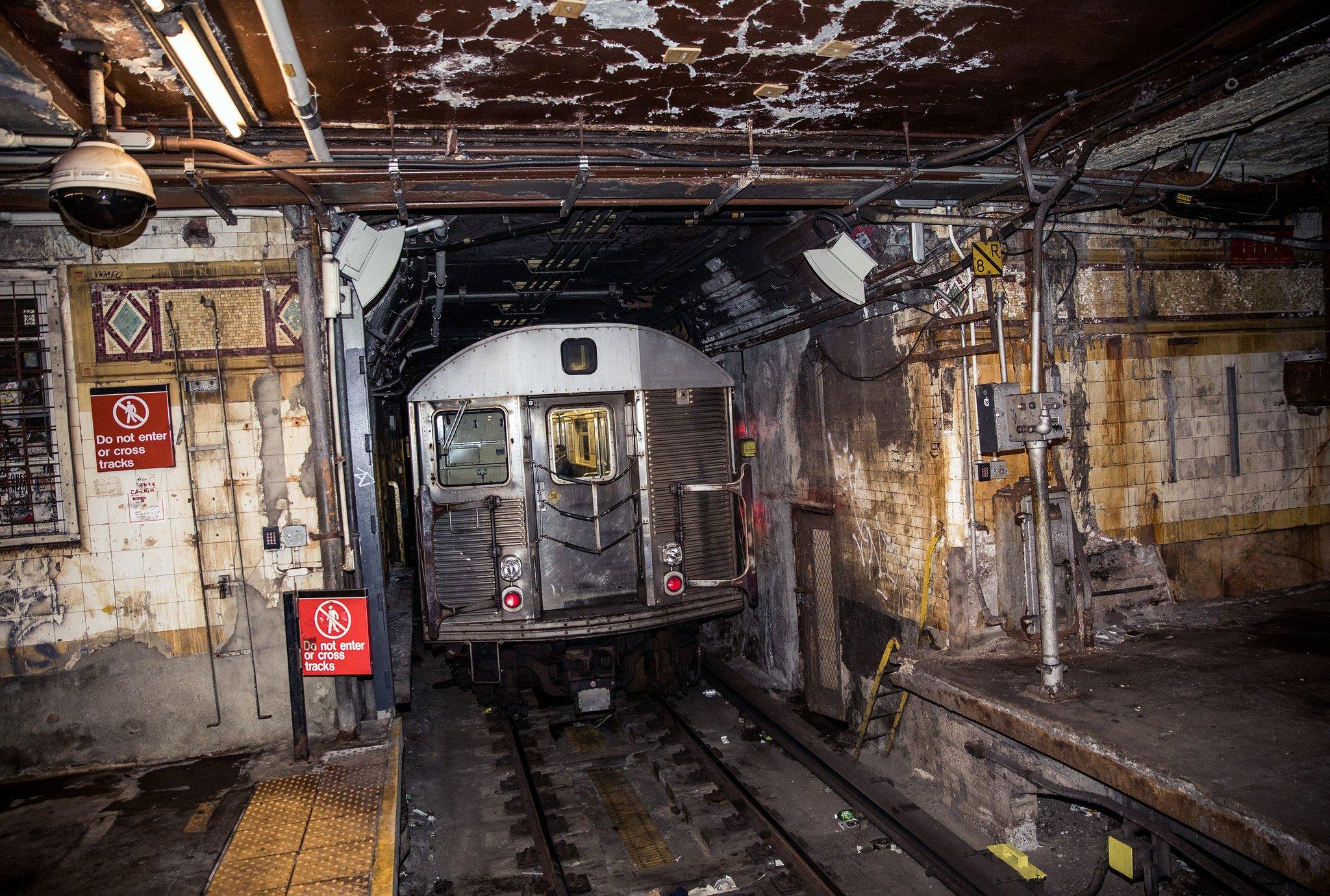 Нью-йоркское метро.