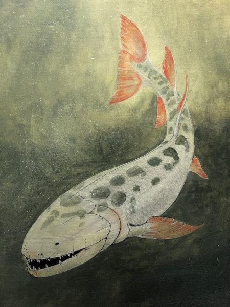 Выглядели представители вымершего вида <i>H. lindae</i> так или примерно так. Огромная пасть игигантские зубы позволяли этим хищникам питаться едва ли невсеми позвоночными, обитавшими вдевонских субтропиках.