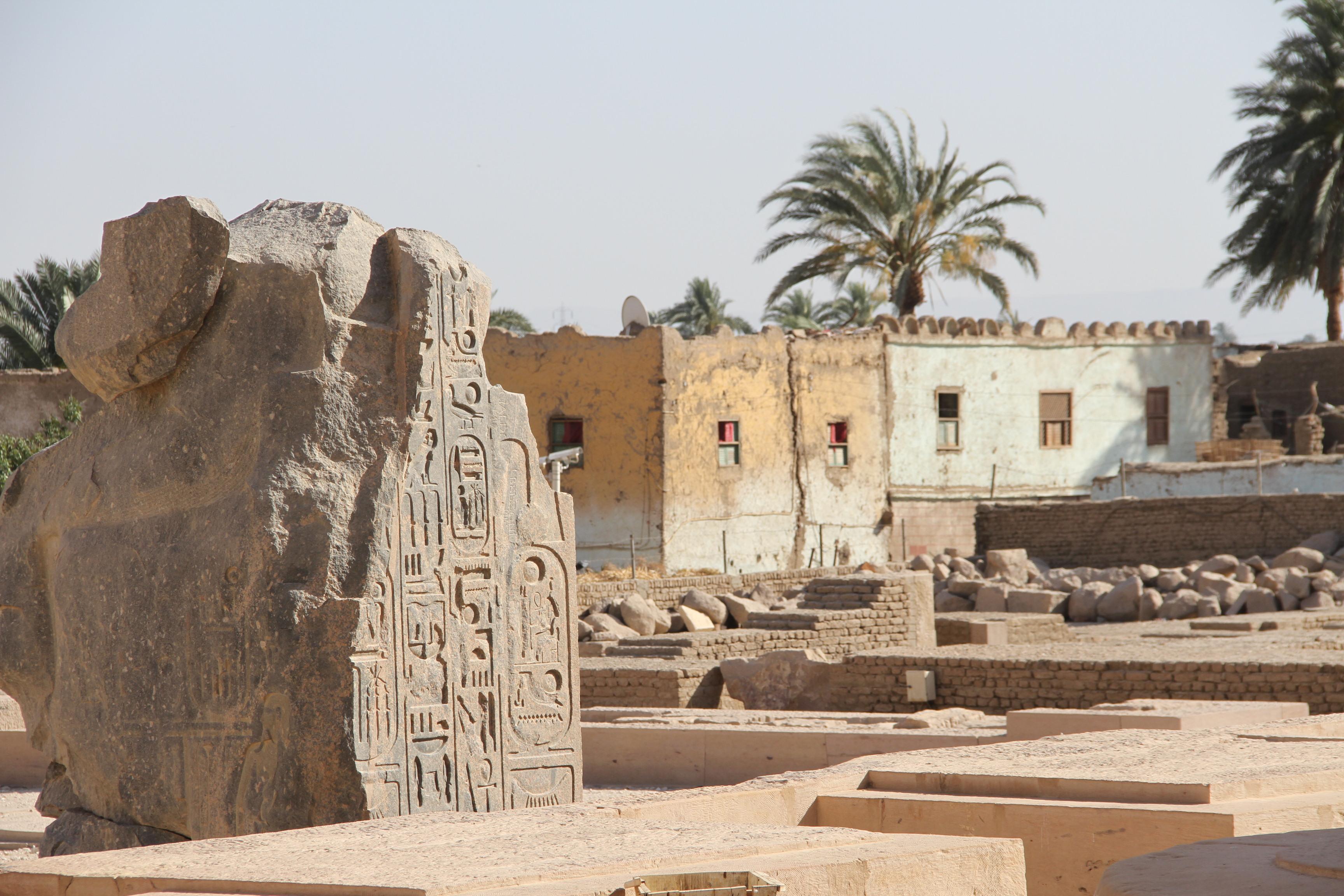 Рамессеум: Египет древний иЕгипет современный