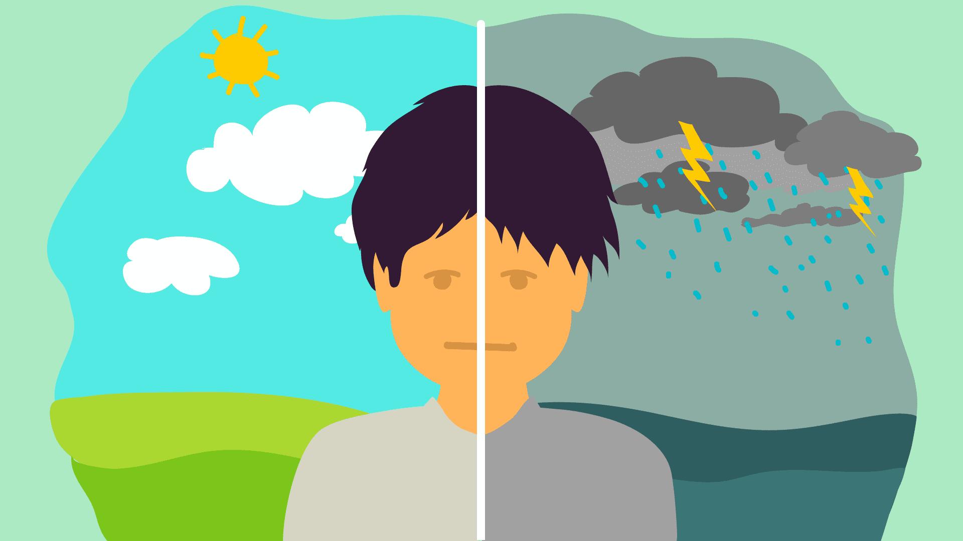 Биполярное аффективное расстройство (БАР)— это психическое заболевание, как правило, характеризующееся сменой депрессивных иманиакальных фаз.