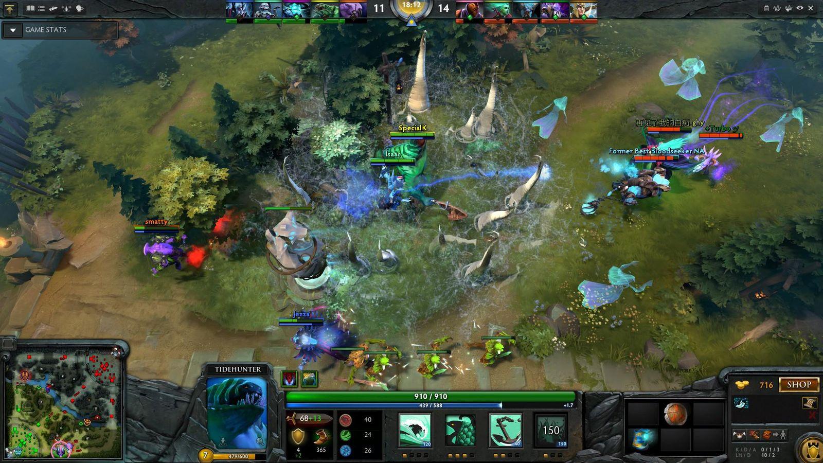 <i>Dota 2</i>— компьютерная многопользовательская командная игра вжанре <i>multiplayer online battle arena</i>, (<i>MOBA</i>).