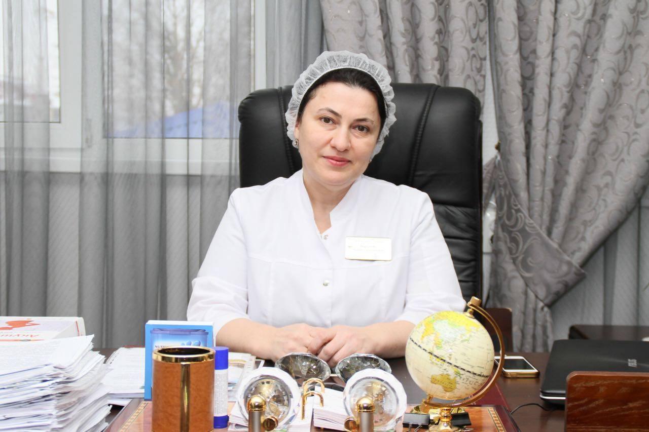 Лилия Идрисова, главный врач ГБУ «РКЦОЗМиР им. Аймани Кадыровой».