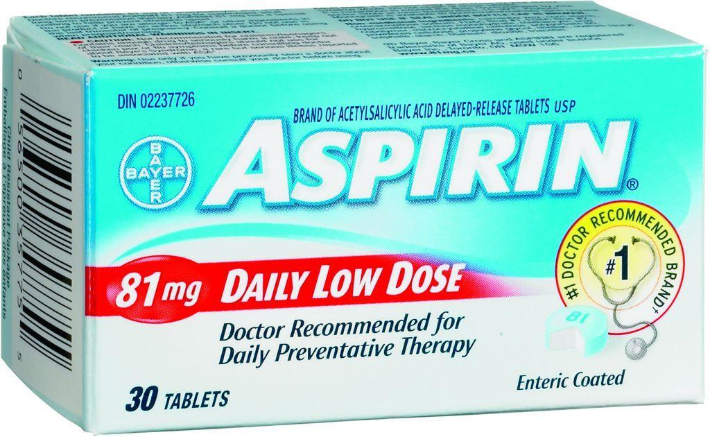 Аспирин внизкой дозировке легко найти ваптеке. Но предназначен он для пациентов ссердечно-сосудистыми заболеваниями, исамостоятельно назначать его вдополнение кпротивоопухолевой терапии всё же нестоит.