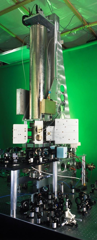 Часы нацезиевом фонтане, установленные вНациональном институте стандартов итехнологий