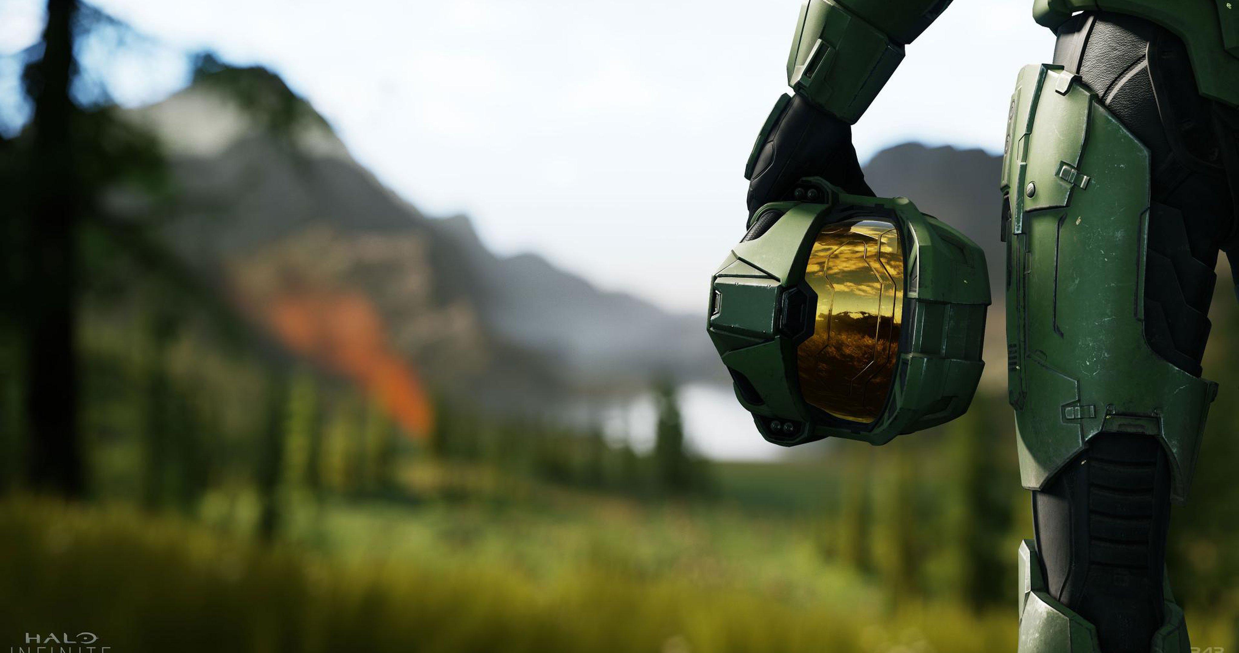 Halo Infinite, скриншот трейлера.