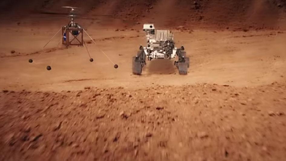 Поверхность Марса— безжизненная пустыня? Давайте надеяться, что да.