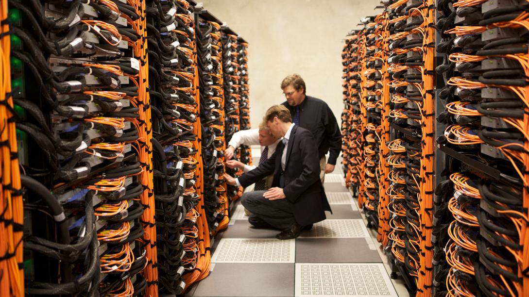 Суперкомпьютер «Мира» вАргоннской национальной библиотеке.