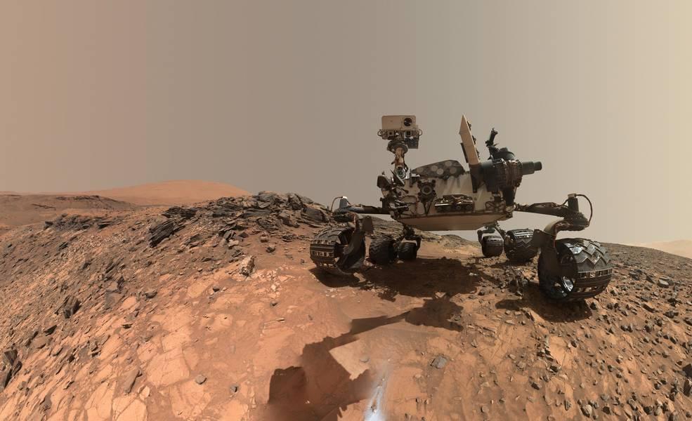 NASA Curiosity наМарсе.