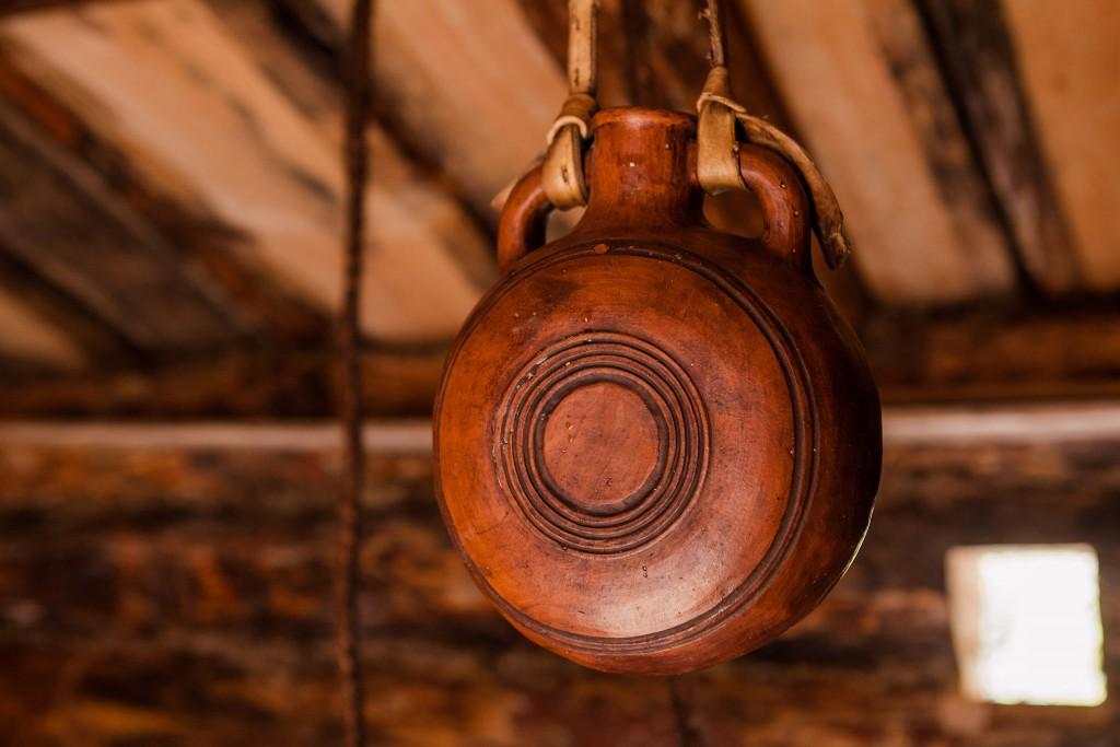 Та самая керамическая фляжка, которой недолжно было быть напроекте. Одни из многих ошибок, которую Павел признаёт исобирается исправить наследующем проекте. || Фото: http://ratobor.com/