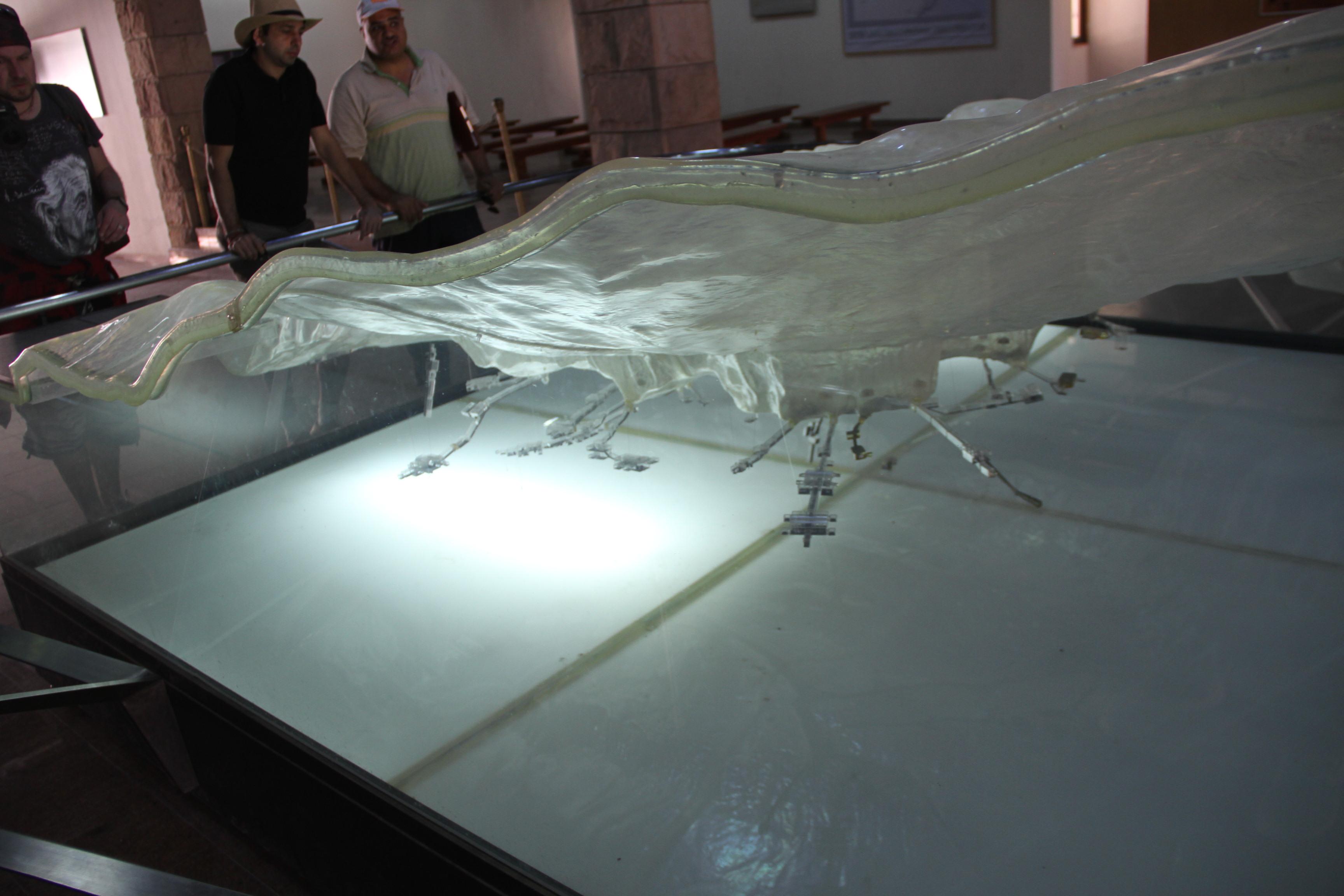 Модель расположения гробниц Долины царей