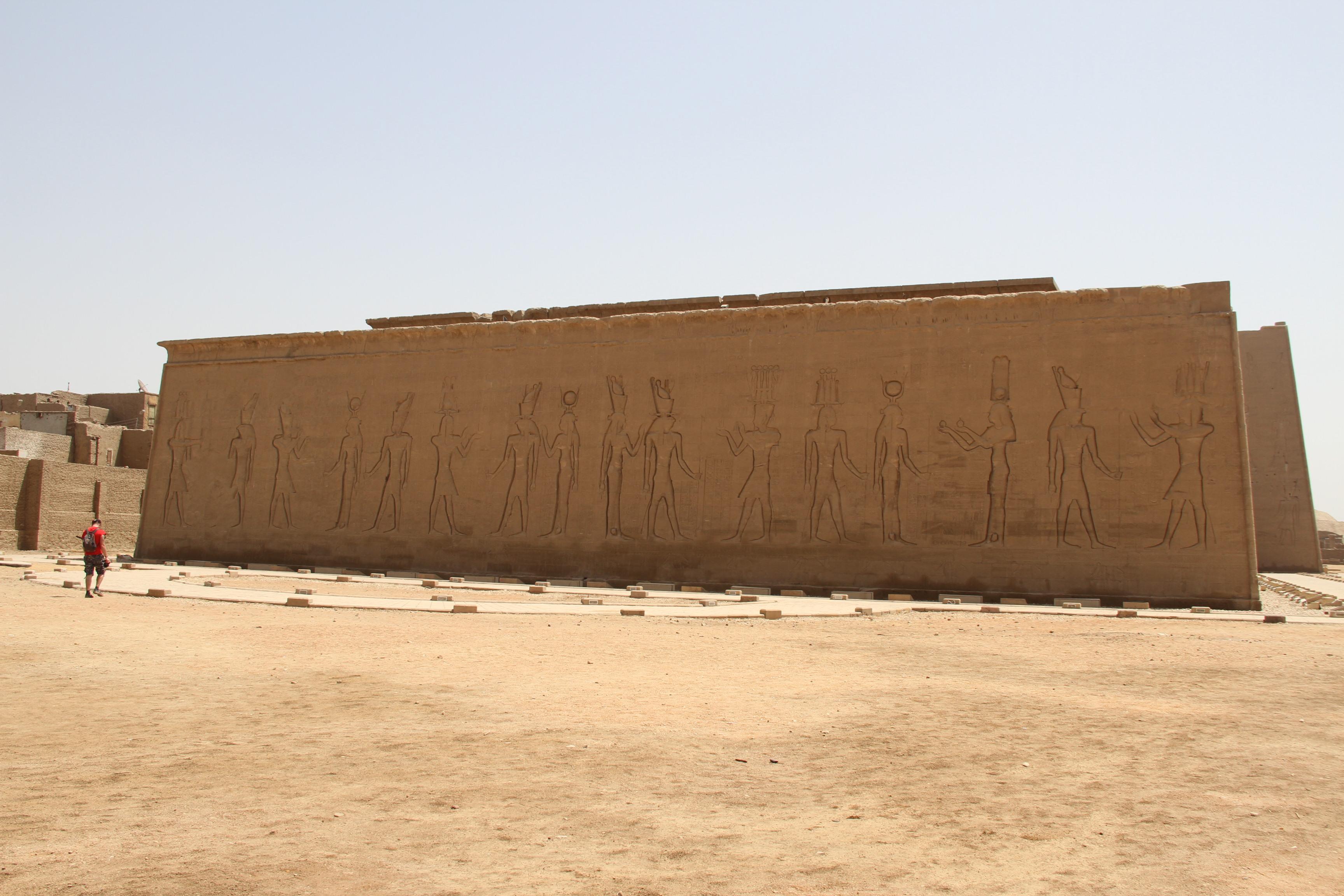 Храм Хора сзади