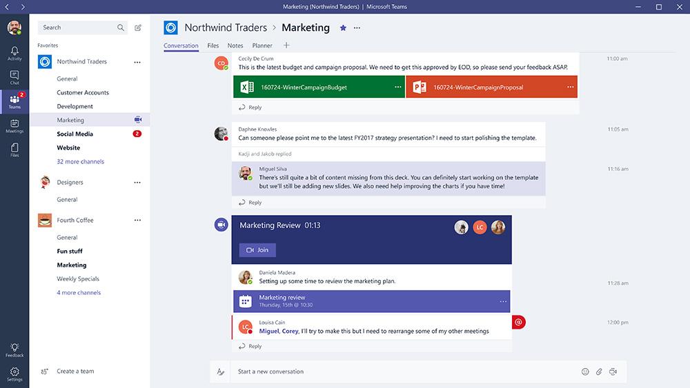 Пользоваться бесплатной версией <i>Microsoft Teams</i> могут до 300 человек— ограничение, но довольно щедрое.